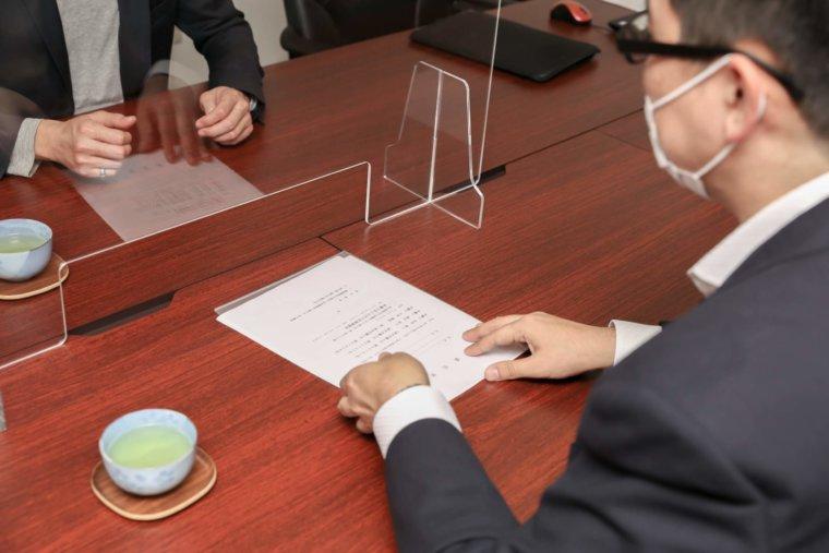 ひばり法律事務所_契約書1