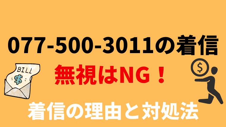 0775003011